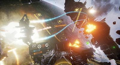 EVE Valkyrie, image courtesy of CCP Games