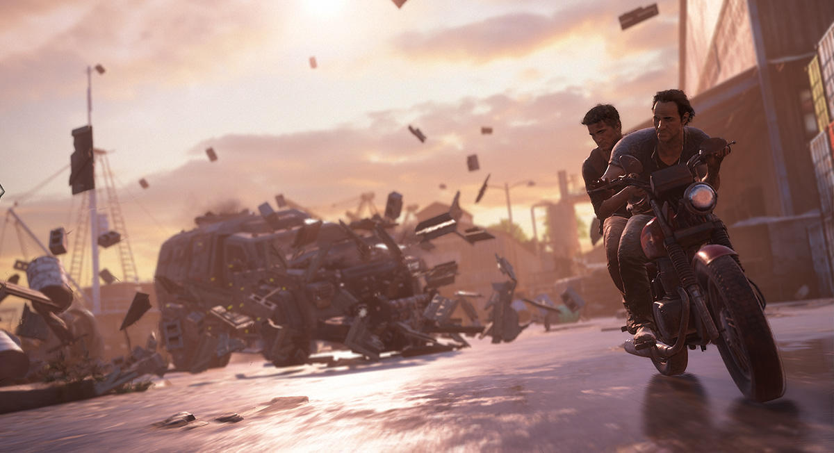 Uncharted 4: A Thief's End, image courtesy of Naughty Dog