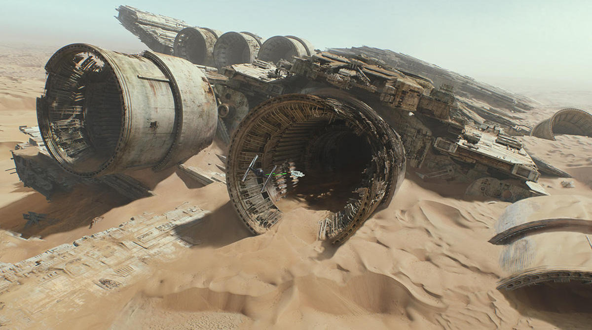 Star Wars The Force Awakens. © and TM Lucasfilm, Ltd. All Rights Reserved