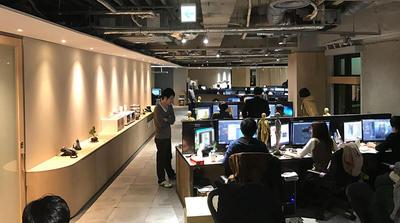 2017年、東京は代官山に移転したばかりのCafe Group東京オフィス