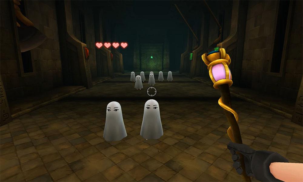 第2ステージのプレイ画面