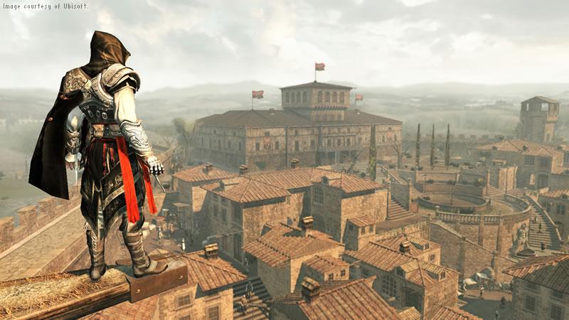 Ubisoft Montreal 社 オートデスクの 3D パイプラインで新しい命が吹き込まれ、再生された『Assassin's Creed II (アサシン クリード II)』