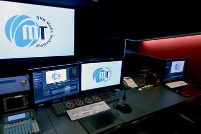 <span>NHKメディアテクノロジー 4K編集室「BLAZE」「DM4K」をリニューアルオープン適正な視聴距離とフレームレート、dot by dotの解像度の4K/60p制作環境が完成</span>