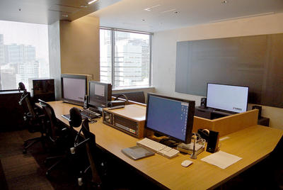 <span>ピラミッドフィルム PTHREE 芝公園の新拠点オープンAutodesk Flame編集室は5室、2室を4K/60p対応に</span>