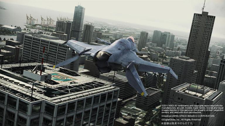 ACE COMBAT ASSAULT HORIZON バンダイナムコゲームス Interview「より本物らしく、より効率的に――リアルかつ高密度な