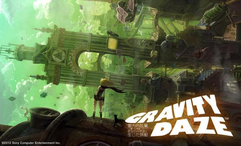 GRAVITY DAZE ソニー・コンピュータエンタテインメント Interview 『横へ・上へ「落ち」ていく新感覚――重力軌道アクションが拓く未知の世界』