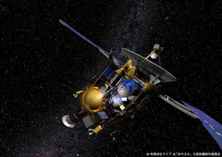 有限会社ライブ HAYABUSA BACK TO THE EARTH 本物の星空を、本物の動きで---- 3ds Maxで描く