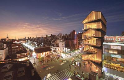 隈研吾建築都市設計事務所 Autodesk® 3ds Max®の多彩な3D CGイメージが日本を代表する建築設計事務所のクリエイティブワークをトータルに支援