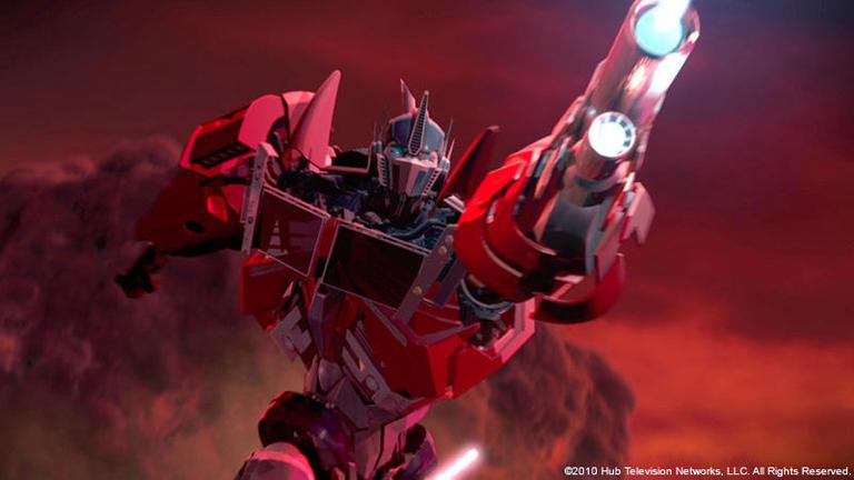 Transformers Prime 吉平直弘氏 (ポリゴン・ピクチュアズ) Interview 「Smoke for Mac OS Xで作業フローを一新し、 世界レベルの品質要求と過酷なスケジュールをクリア。」
