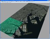 衛星写真をMayaでモデルに適応させる