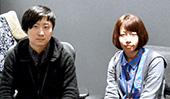 山内 慶 氏(左)と佐藤 彩 氏