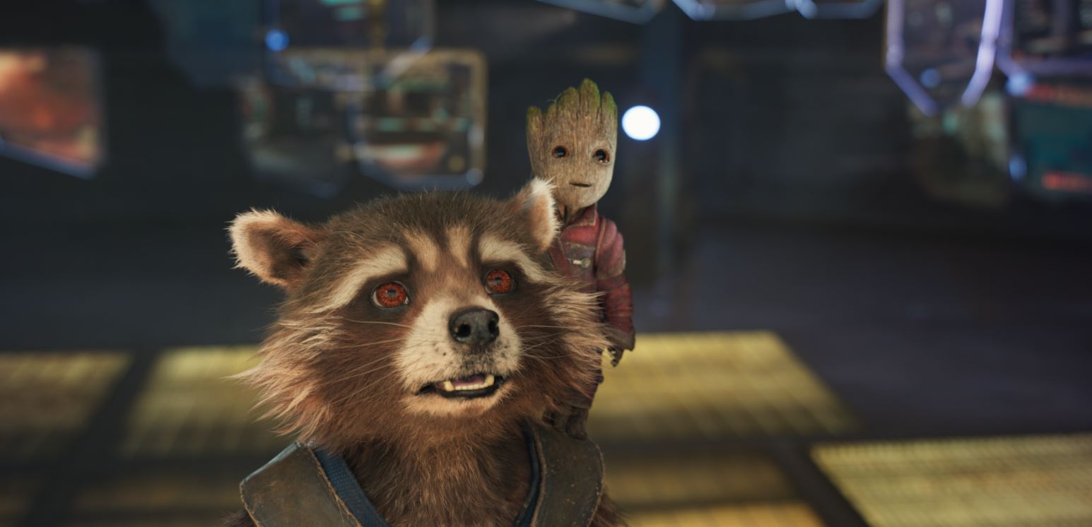 Guardians of the Galaxy 2 Vol. 2 © 2017 Marvel Studios.All images courtesy of Framestore.