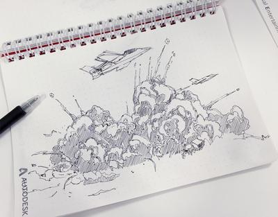 DML~CG制作 いろはにほへと~第8回:CG制作いろはにほへと エフェクト編 爆発は芸術だ!