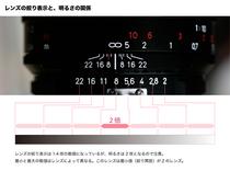 第40回「カメラの構造 絞り・シャッタースピード・ISO感度・EV の関係 2」