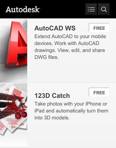 次世代メディアとM&E第14回:オートデスクのモバイルアプリ