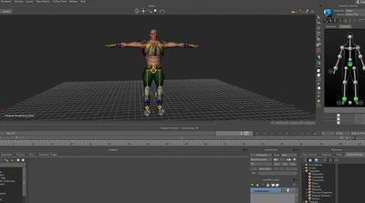 MotionBuilderでカットシーン制作第1回:シーン制作するための準備 キャラクター・背景編
