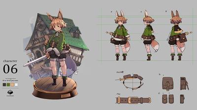 Mayaで始めるゲーム用ローポリキャラモデル第1回:モデルのデザインと仕様