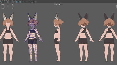 Mayaで始めるゲーム用ローポリキャラモデル第2回:Mayaの設定と素体作成の開始