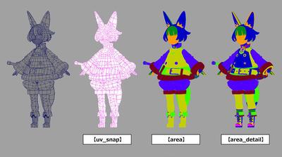 Mayaで始めるゲーム用ローポリキャラモデル第4回:デザインしたモデルの作成