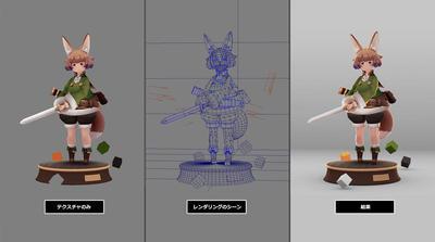 Mayaで始めるゲーム用ローポリキャラモデル第6回:表情の作成/モデル作成の補足