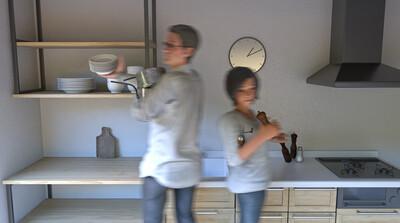 3ds Max × ビジュアライゼーション第4回:超シンプルにつくる「昼下がりのキッチン」その④小物の配置とレンダリング設定編