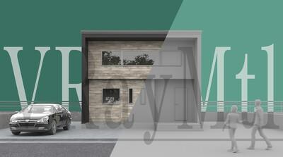 3ds Max × ビジュアライゼーション第6回:何の変哲もない「一軒家の外観」 その②マテリアルとカメラ