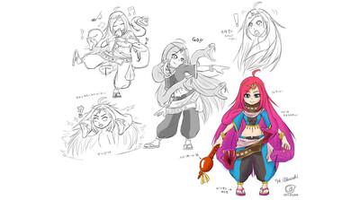 Chara@Maya~Maya 2016で気軽にはじめるキャラクター制作~第1回:まずはデザインと素体作り