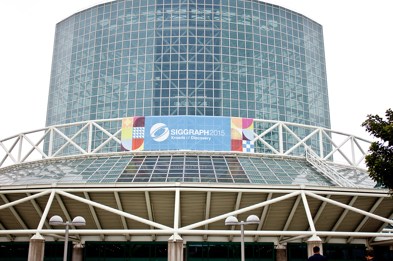 SIGGRAPH2015の会場となったLos Angeles Convention Center