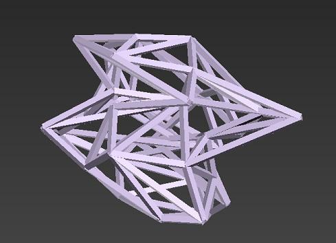 格子状のオブジェクトをコリジョンモデルとして配置