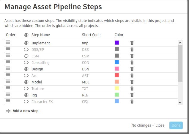 Pipeline > Manage Asset Pipelineを選ぶ
