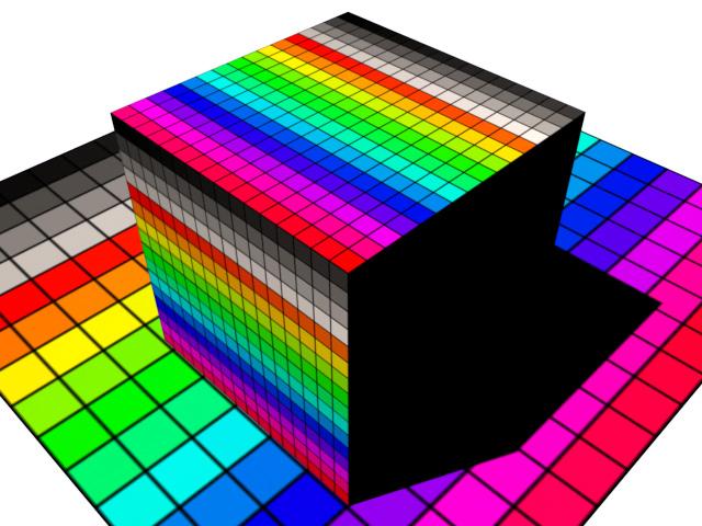 フィジカルサンのような強力な照明下でも元のテクスチャに近い色にすることができる