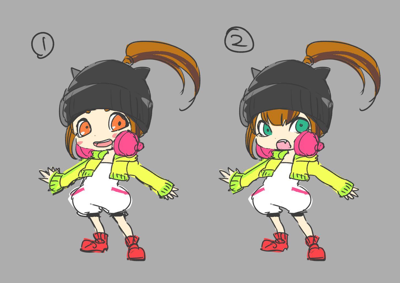 キャラクターコンセプトアート