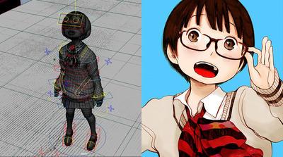 Autodesk Maya パーフェクトアニメーション ウェビナー Part 1 & Part 2 ~アニメーター 森江康太氏が漫画家、浅野いにお氏のキャラクターに命を吹き込む!~