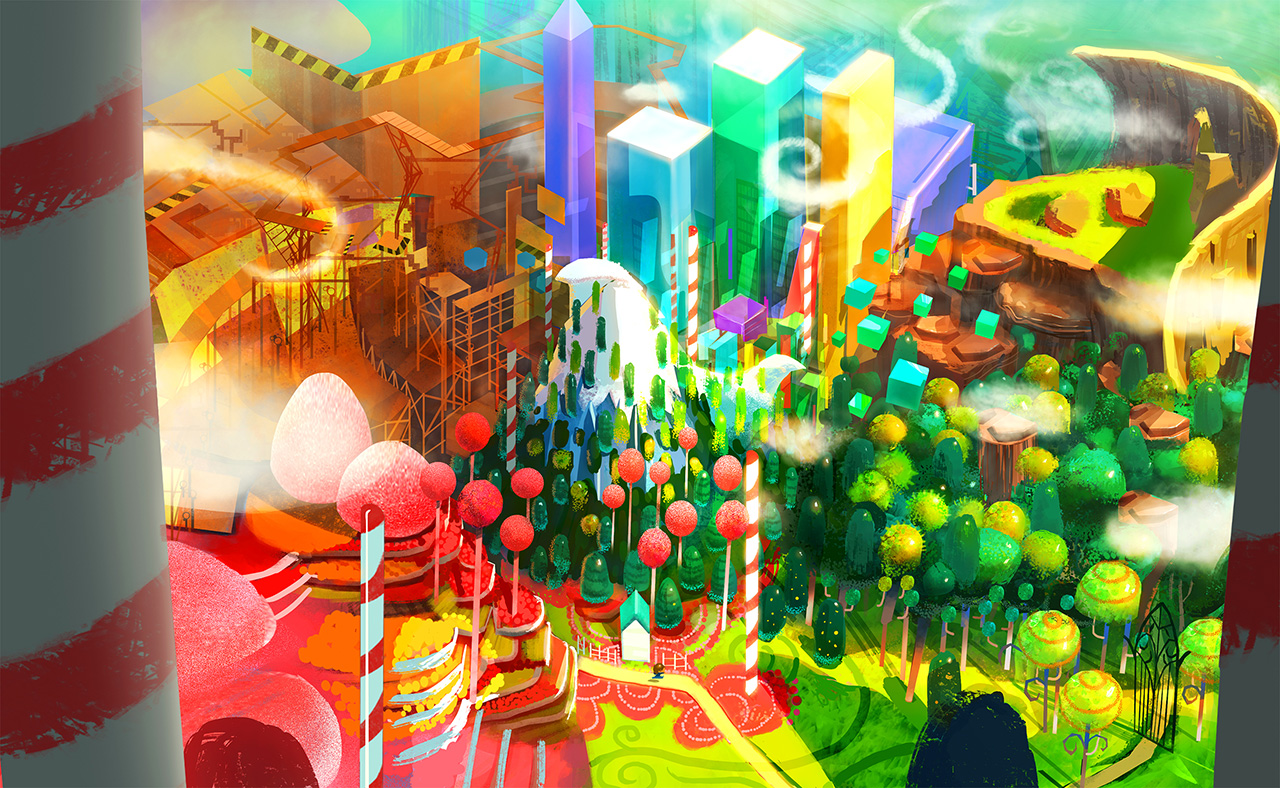 Road to Stingray で開発中のゲームのコンセプトワーク