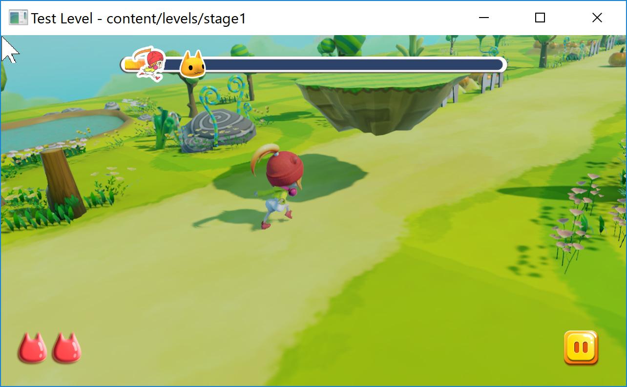 Stingrayで開発中の画面