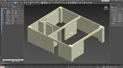 やさしい3ds Max -はじめての建築CG-「室内をモデリング」編を追加しました。