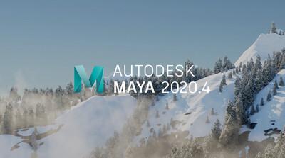 Maya 2020.4 リリース